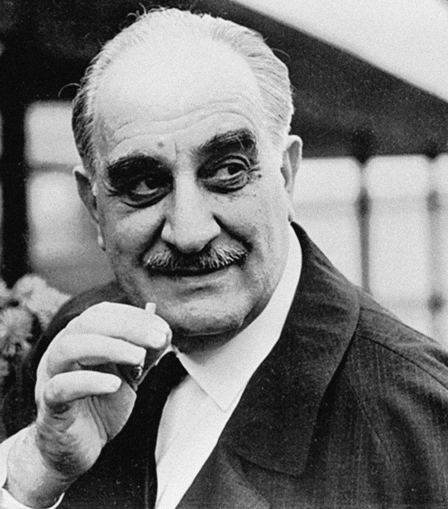 Soviet film director Mikhail Kalatozov.