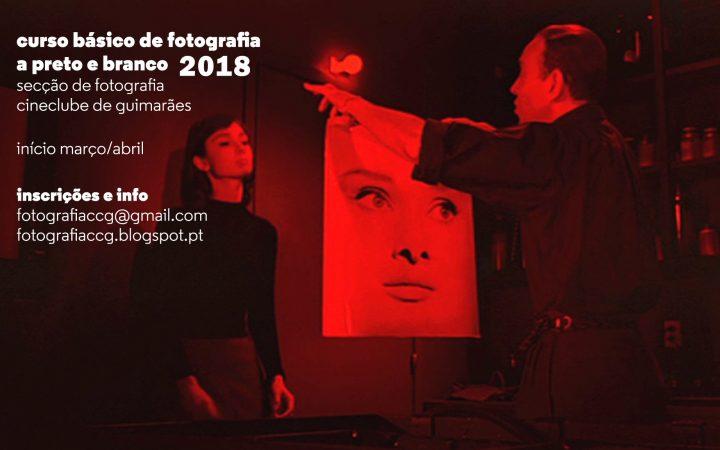 Curso básico de Fotografia a preto e branco 2018
